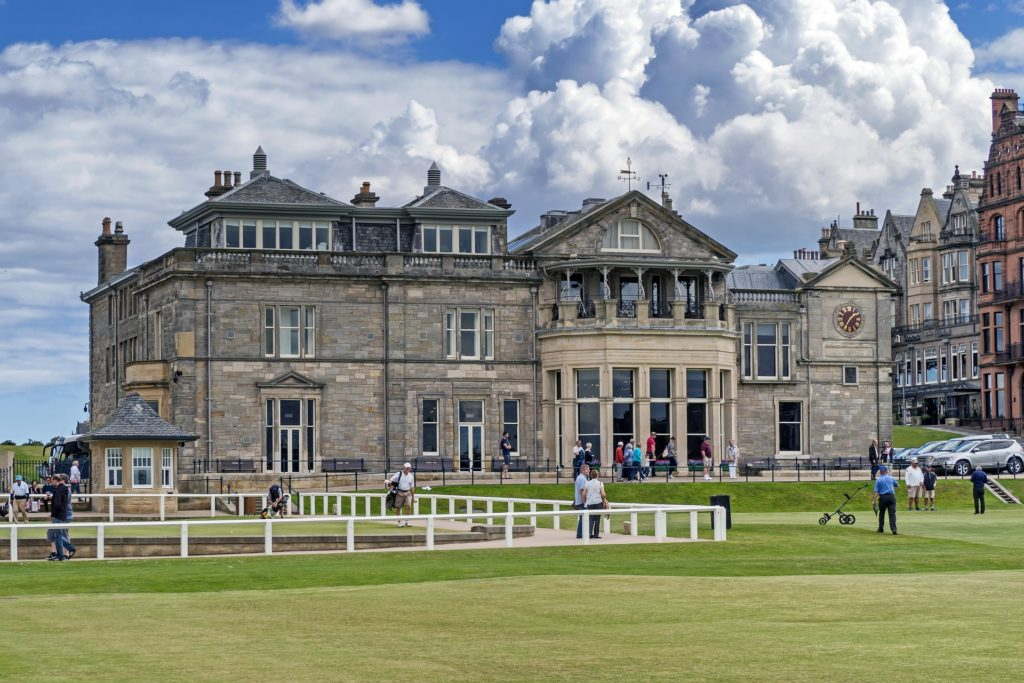St Andrews Old Course Clubhouse