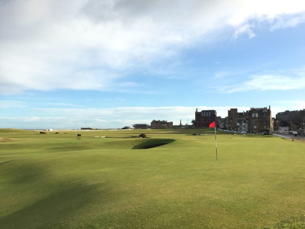 17th green Old Course