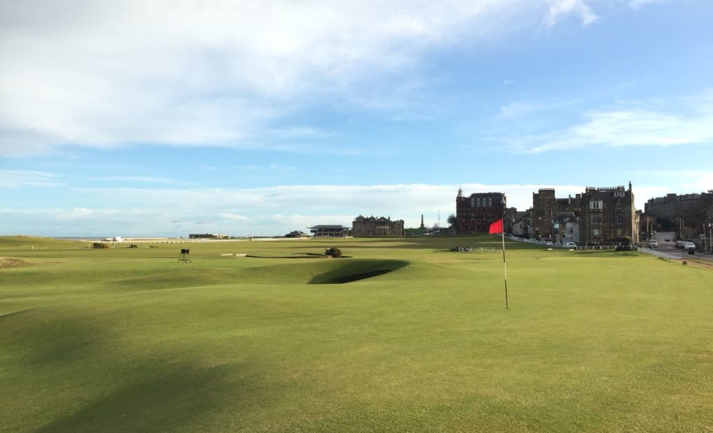 17th green Old Course, St Andrews