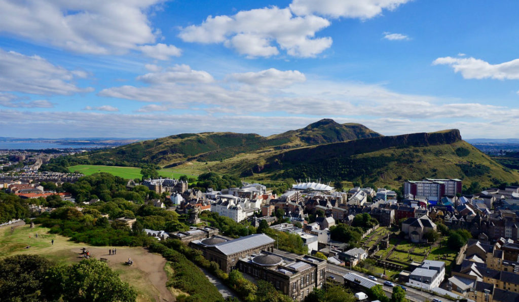 Arthurs Seat Edinburgh, walk in Scotland