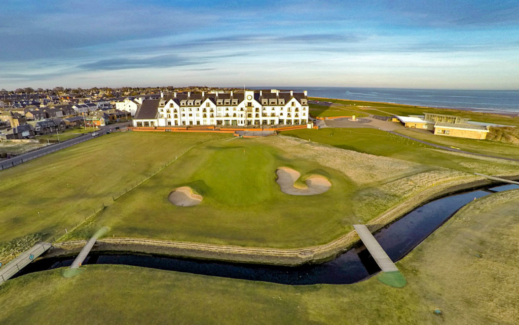 CARNOUSTIE Golf Links aerial