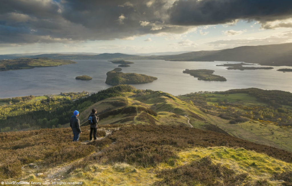 Conic Hill, Loch Lomond, West Highland Way