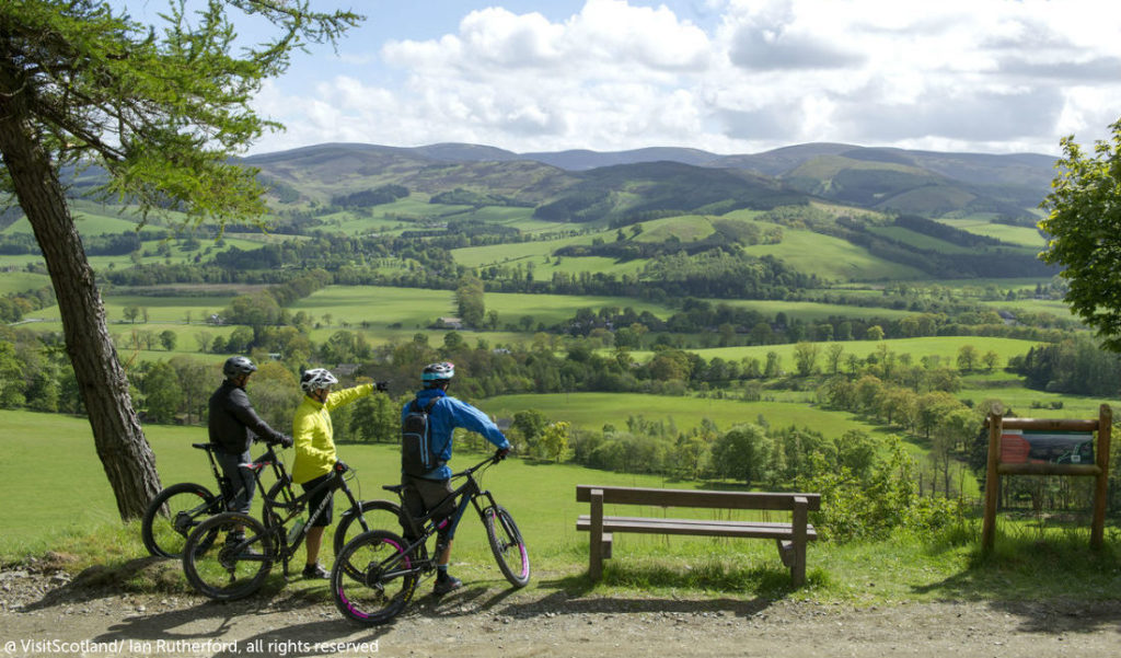 Outdoor cycling Scotland