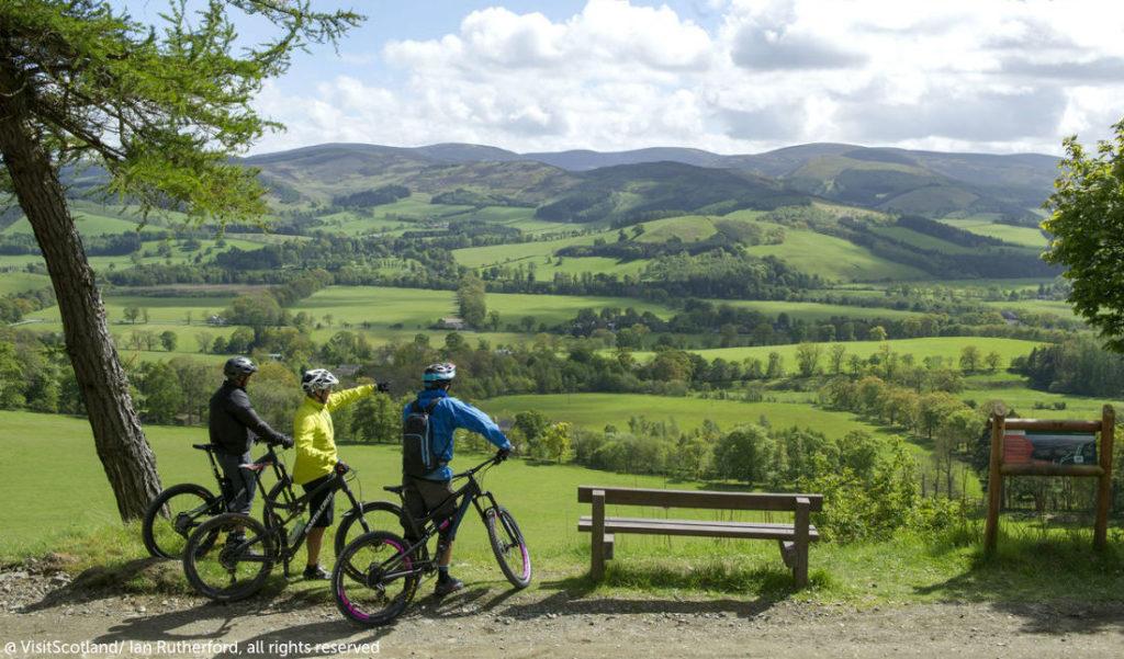 Outdoor cycling Scotland
