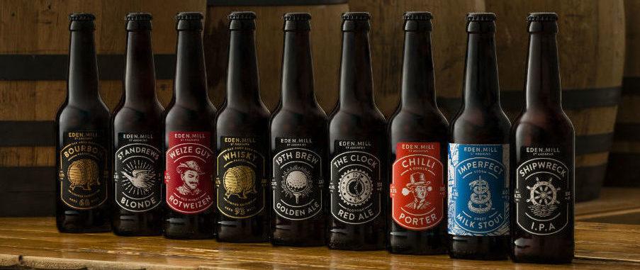 Eden Mill craft beer range