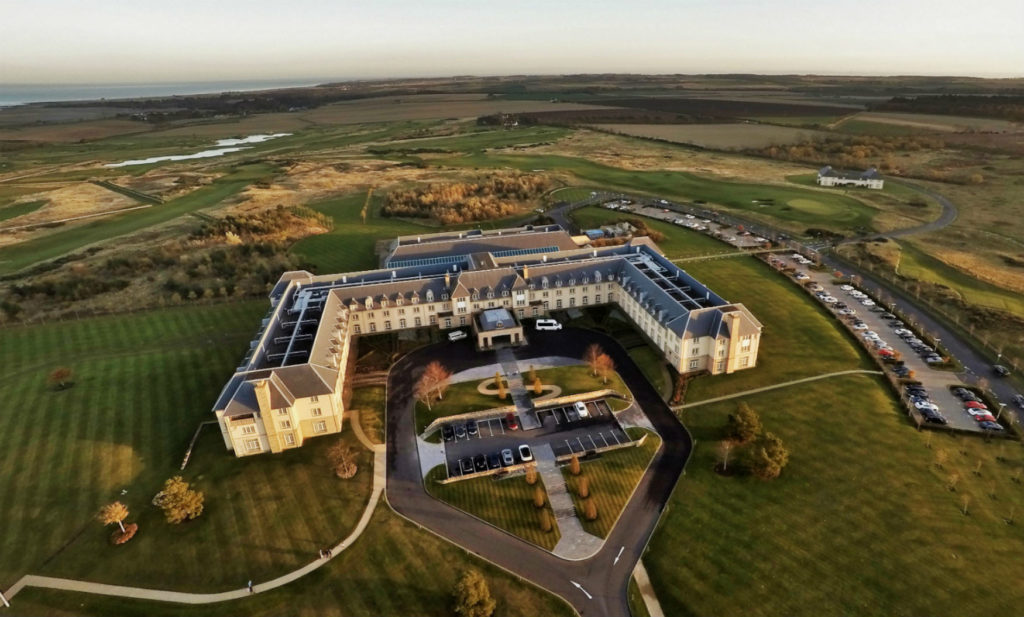 FAIRMONT HOTEL aerial view