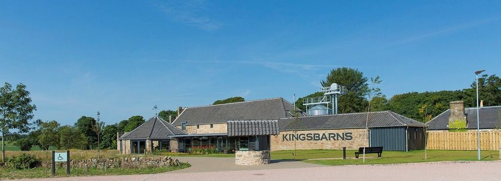 Kingsbarns Distillery - outside panoramic