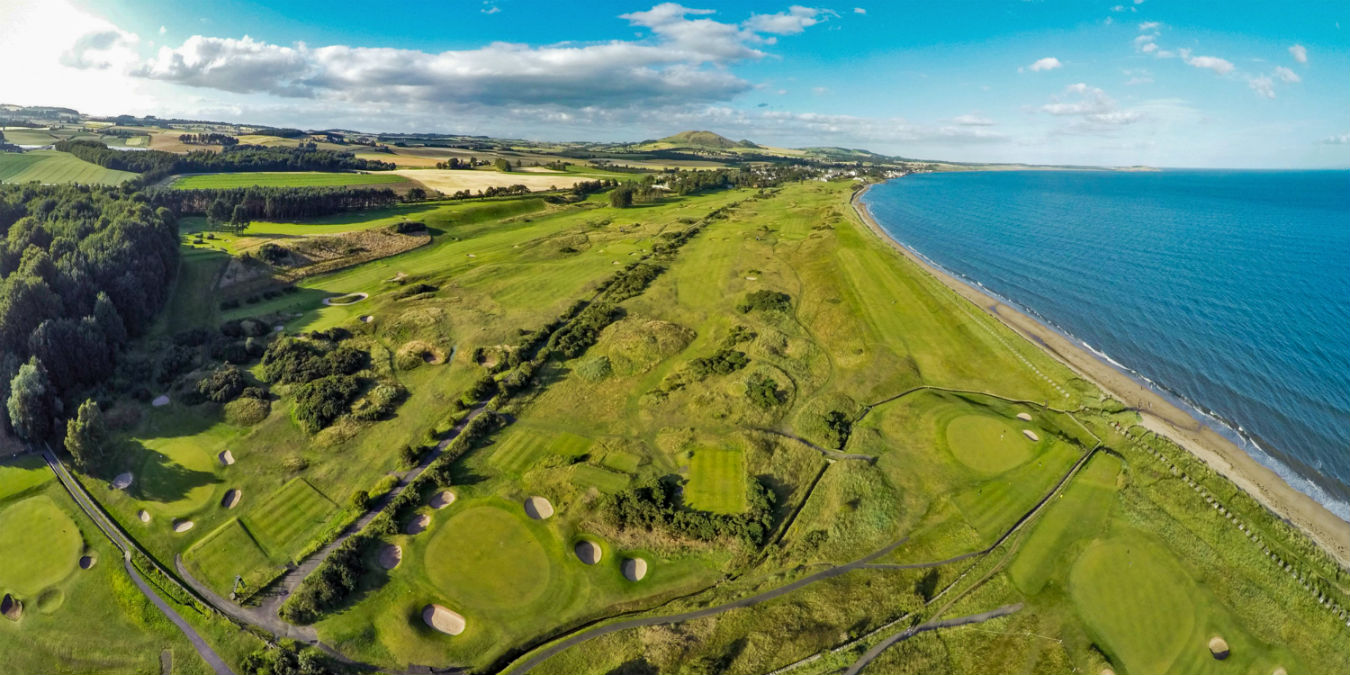 Lundin Links Aerial View