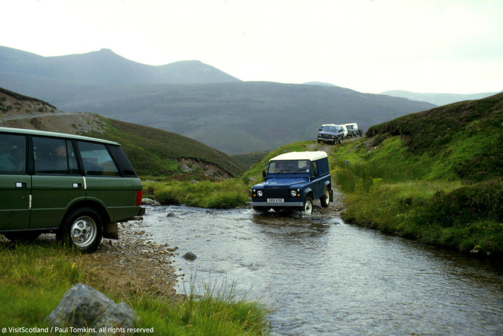 Off Road Driving Scotland