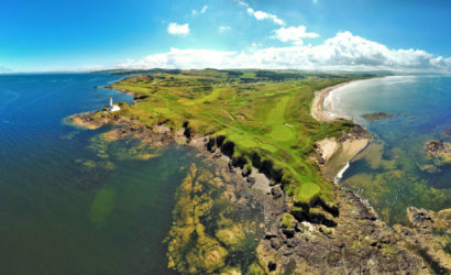 Aerial View Ailsa, Trump Turnberry