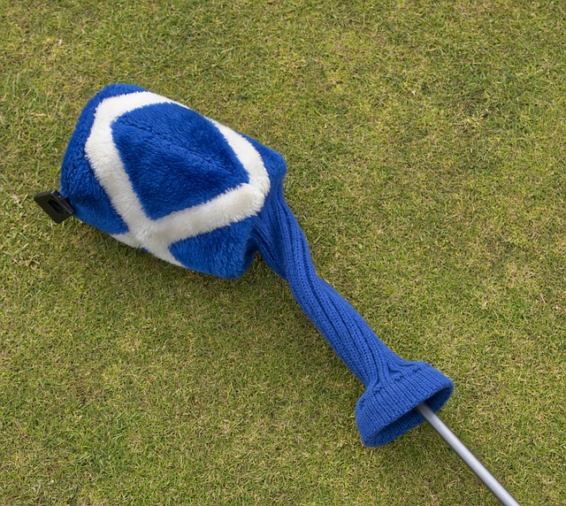 Scottish golf driver cover