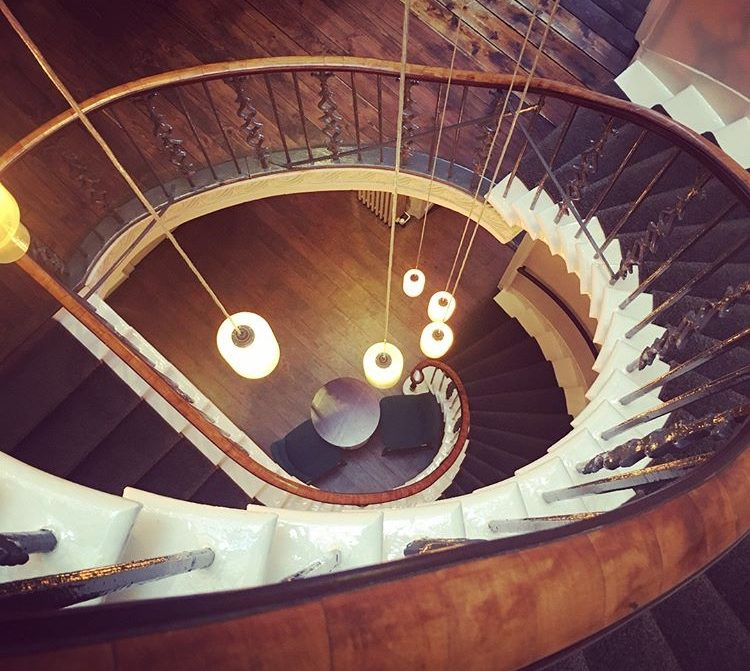 Spiral staircase Scotch Whisky Society