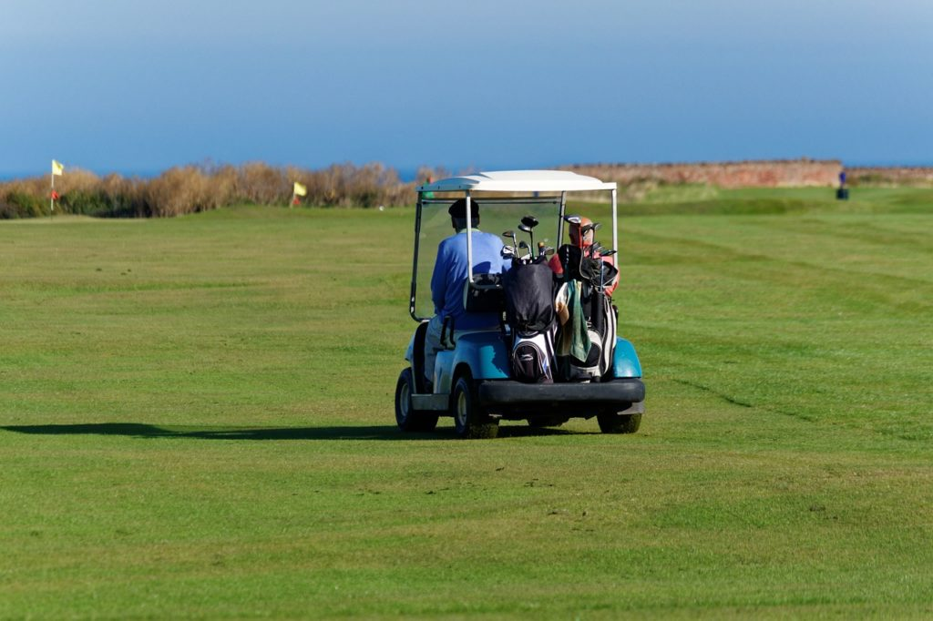 Golf buggy Scotland