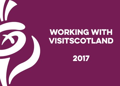 Working with Visit Scotand Logo