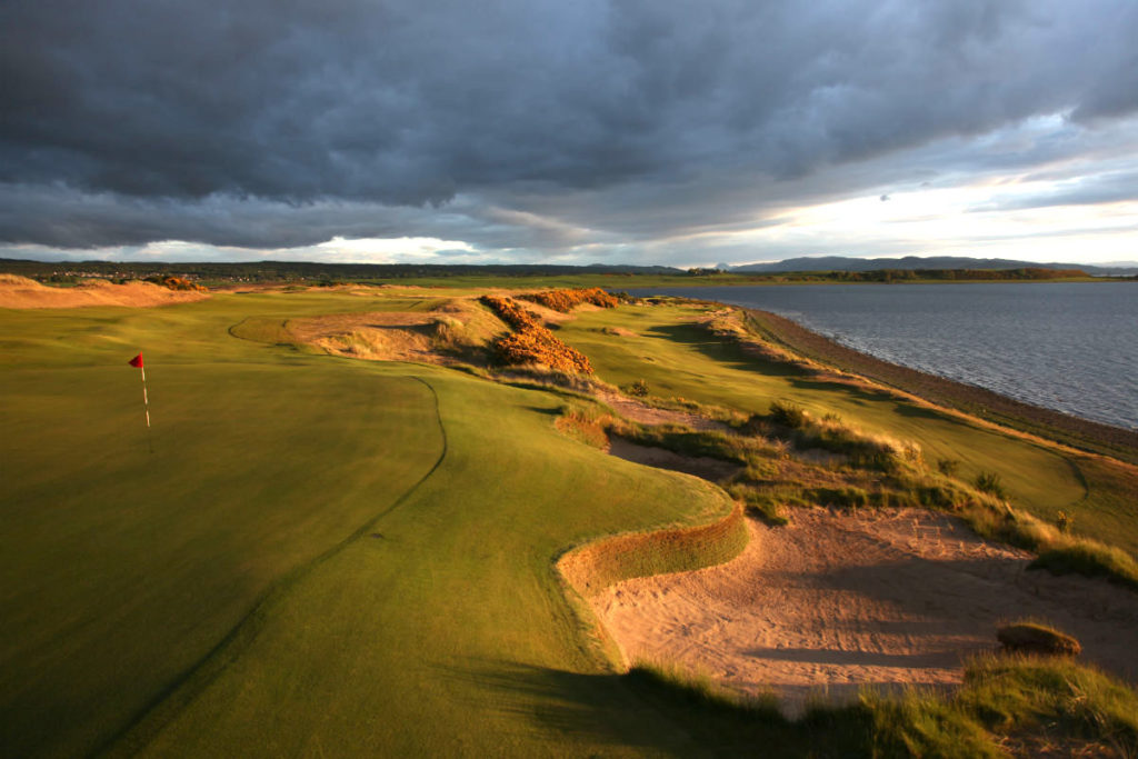Castle Stuart 7th and 2nd hole