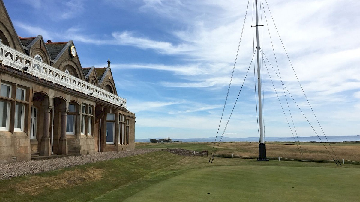 Royal Troon Course Clubhouse