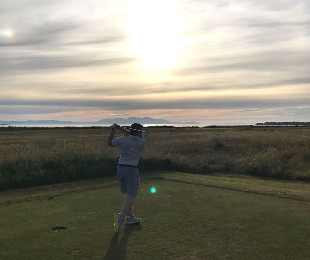 Sunset Royal Troon
