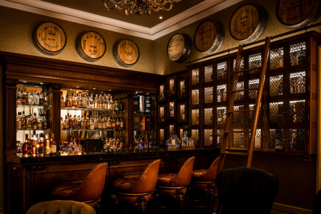 Whisky Bar & Lounge Trump Aberdeen Scotland