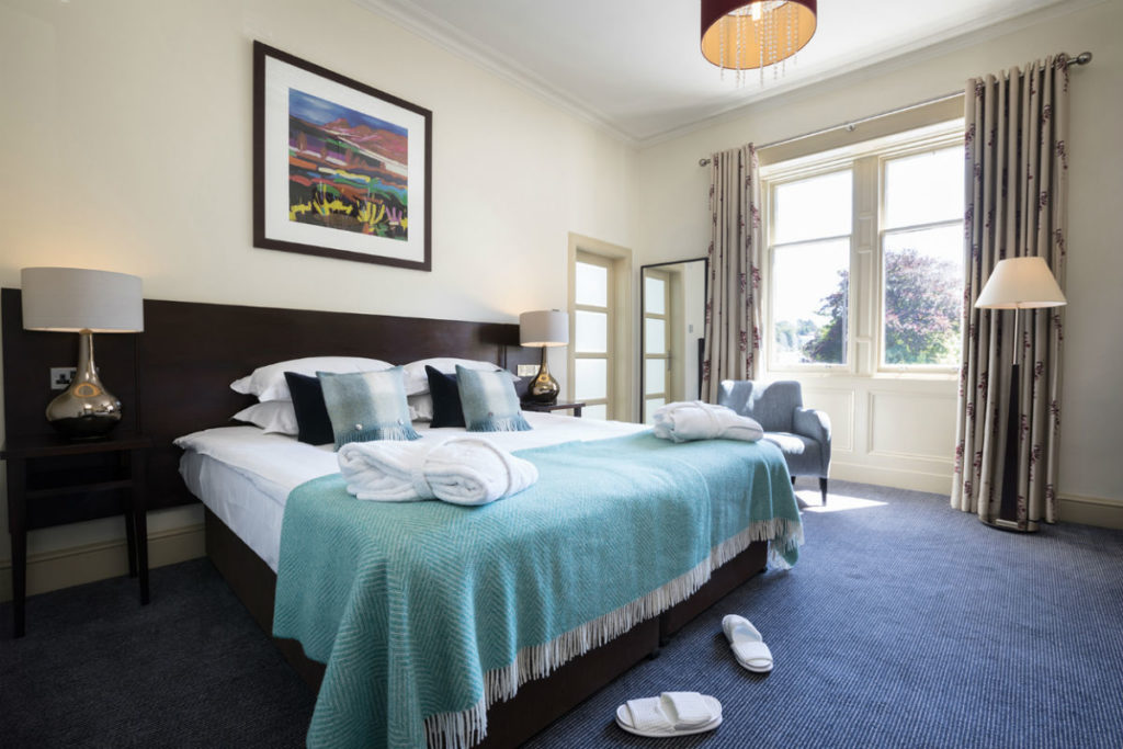 Nether Abbey Hotel Bedroom