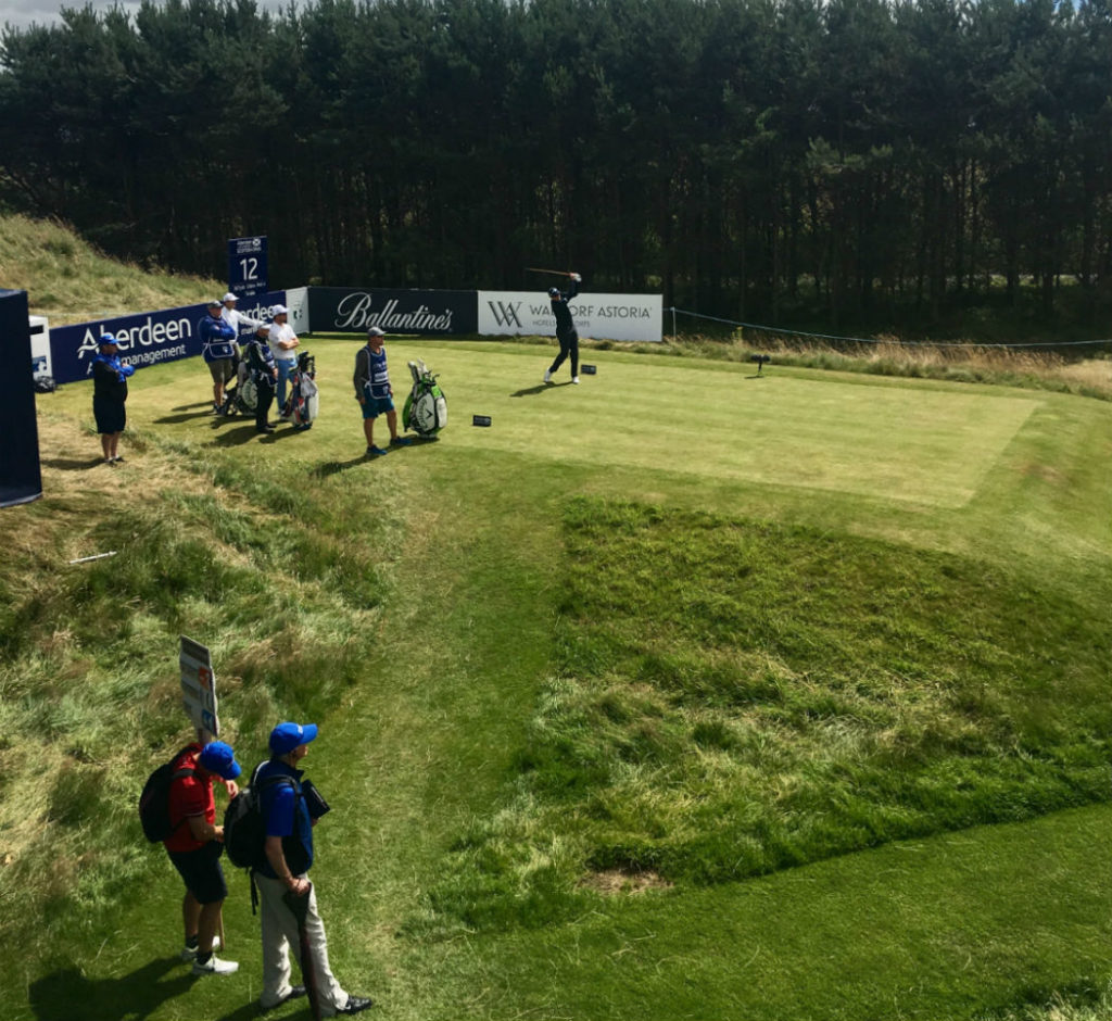 Scottish Open tee off