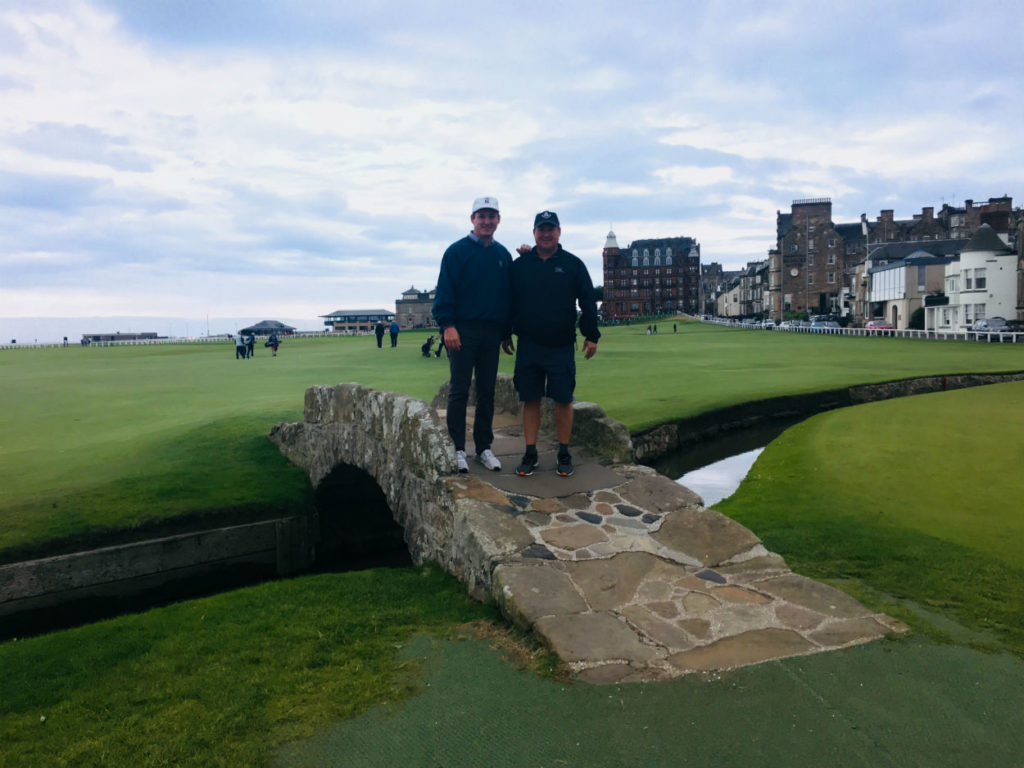 Father & Son Trip St Andrews