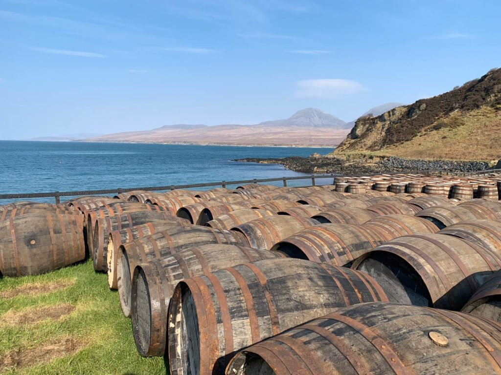 View from Islay Distillery