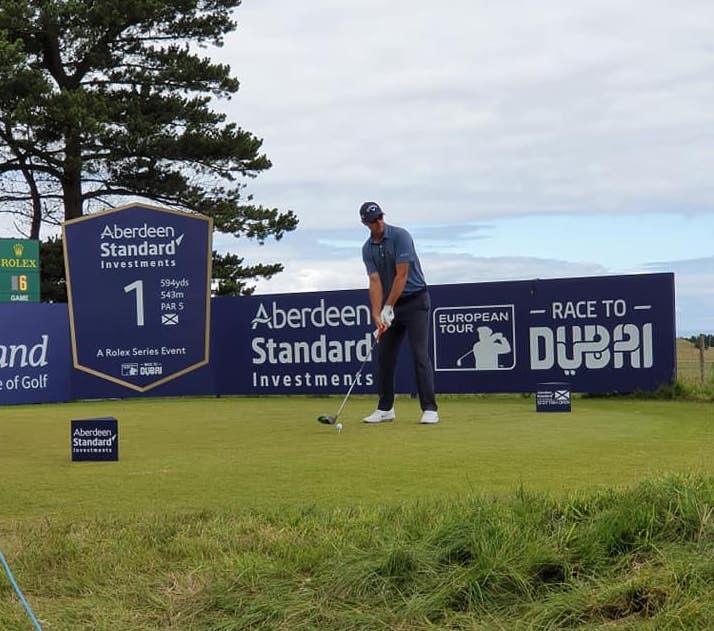 Scottish Open 19 Tee Off